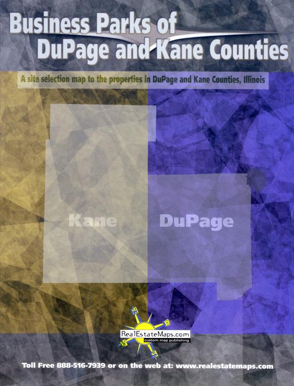 Eric Pedersen: Business Park Maps - Dupage County