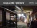 Eric Pedersen: About Chai Bar SF - Mobile Version