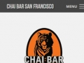 Eric Pedersen: Chai Bar SF Homepage - Mobile Version