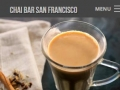 Eric Pedersen: Chai Bar SF Menus - Mobile Version