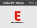 Eric Pedersen: Chai Bar SF Press - Mobile Version
