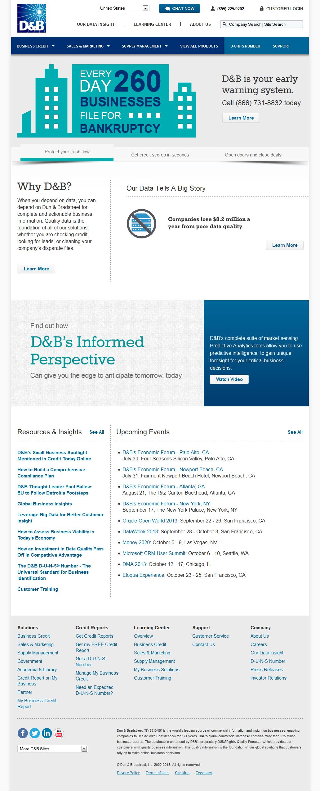 Eric Pedersen: D&B - Homepage