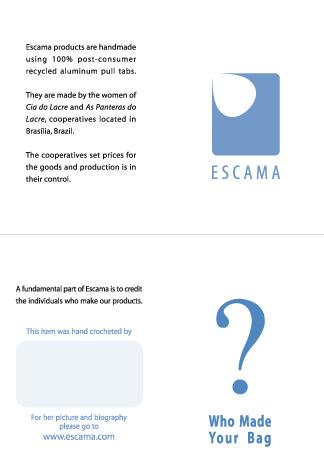 Eric Pedersen: Escama Studio -  Hang Tags version 2