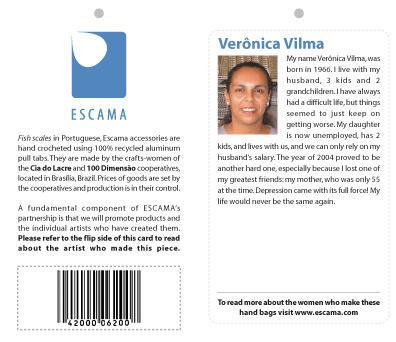 Eric Pedersen: Escama Studio - Hang Tags