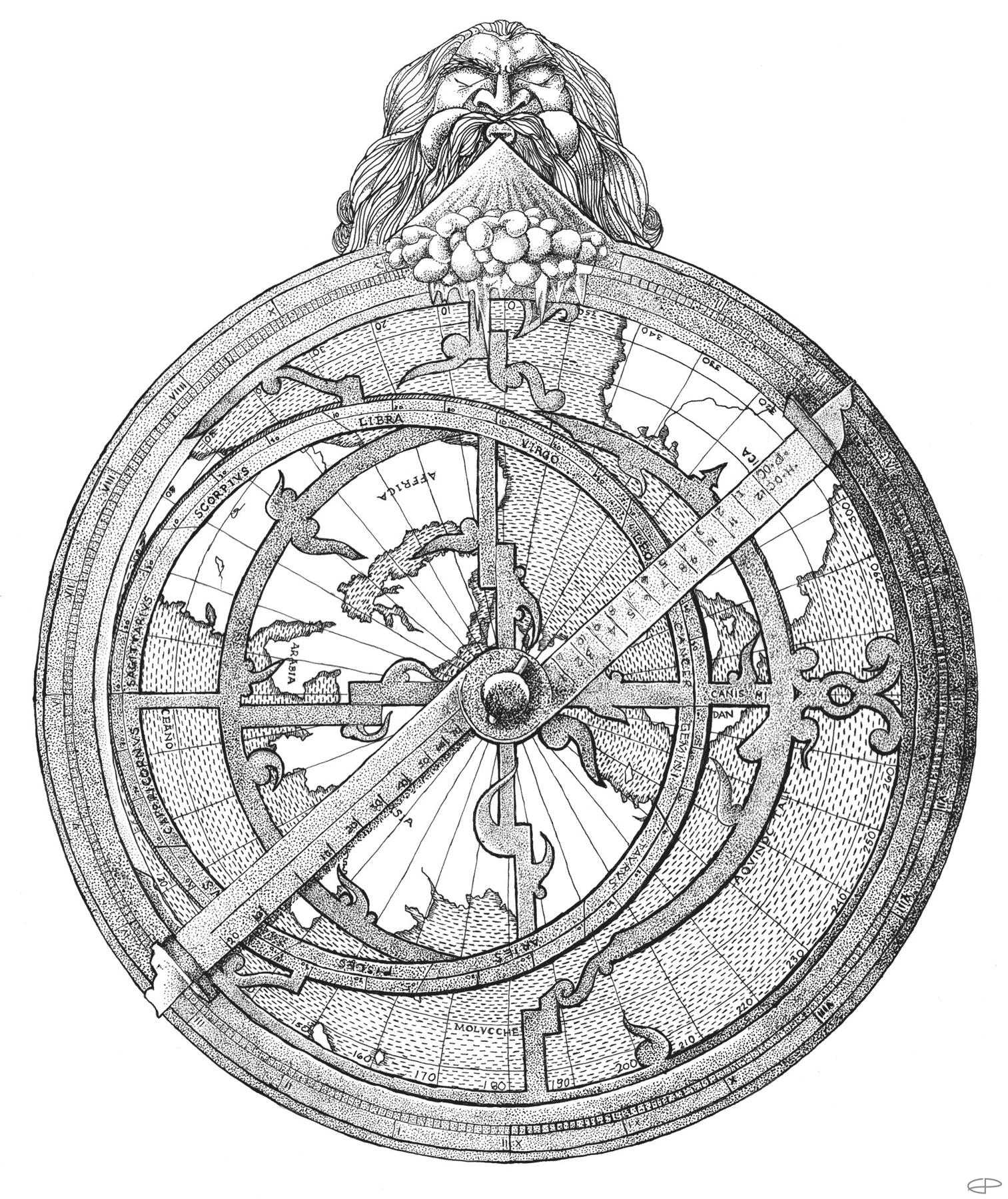 Eric Pedersen: Astrolabe - Monica Maye