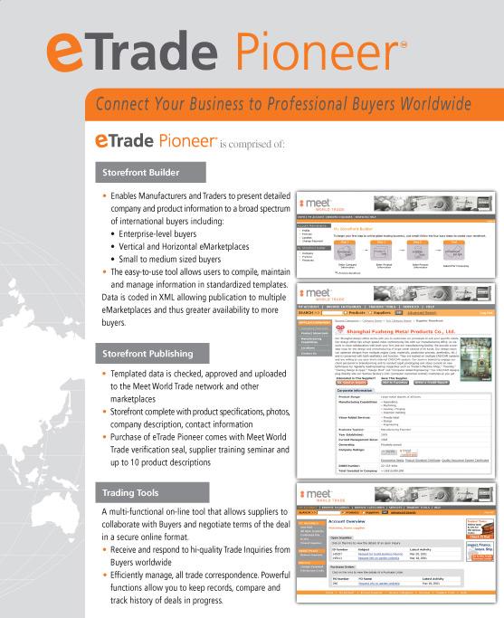 Eric Pedersen: eTrade Pioneer - Software Packaging Box Back