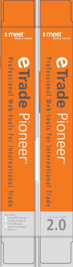 Eric Pedersen: eTrade Pioneer - Software Packaging Box Side