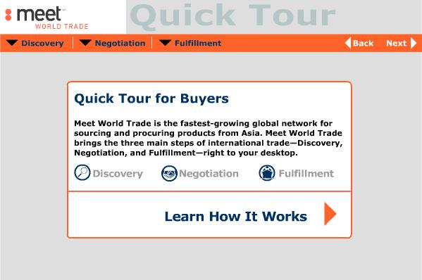 Eric Pedersen: Meet World Trade - Buyer Demo