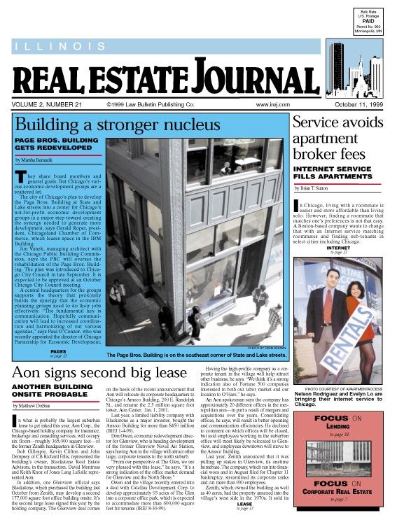Eric Pedersen: Illinois Real Estate Journal
