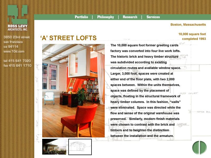 Eric Pedersen: Levy Architects - Design Comp 4