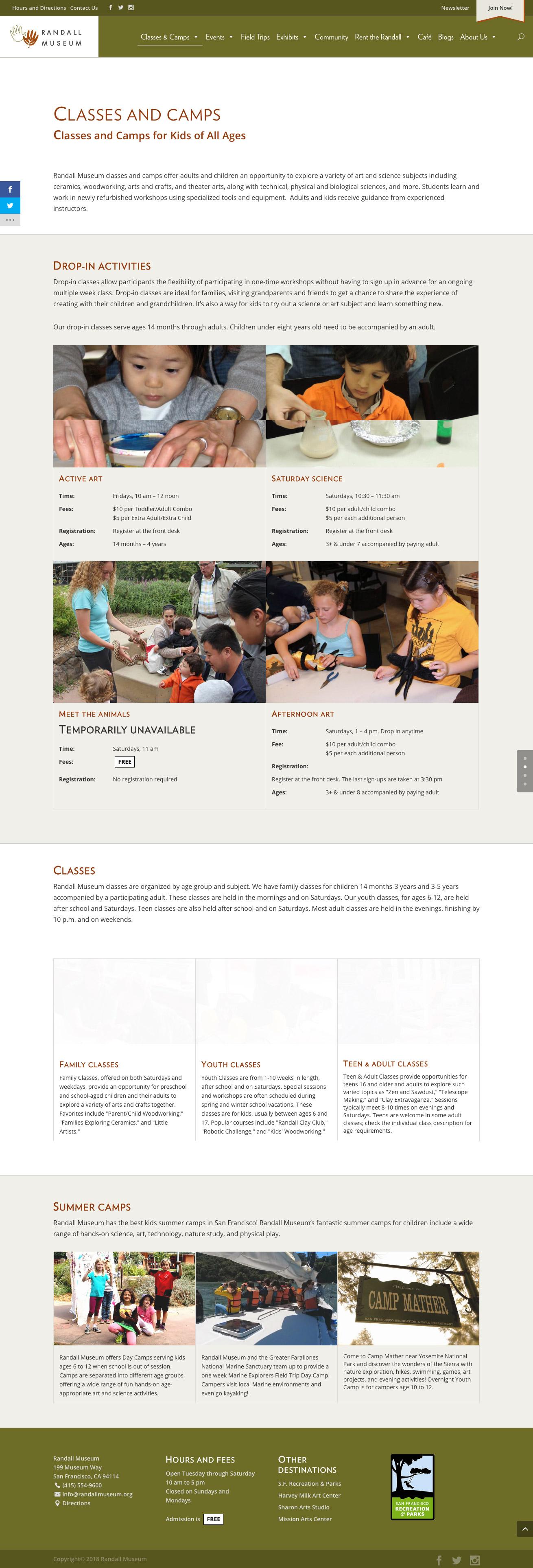 randallmuseum-org-classes