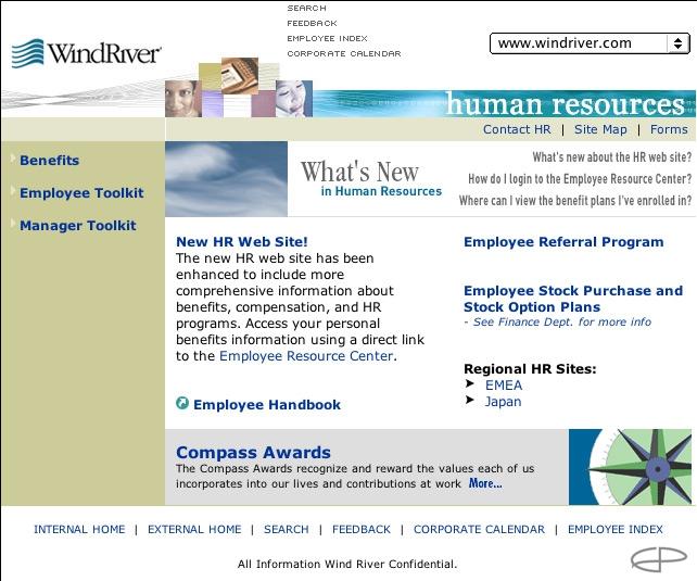 Eric Pedersen: Wind River - Homepage