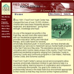 Eric Pedersen - Fred Finch Youth Center Website