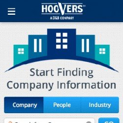 Eric Pedersen - Hoover's Mobile Website