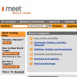 Eric Pedersen - Meet World Trade Website